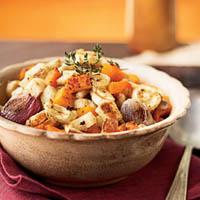 Рецепт овощной запеканки с картофелем, тыквой