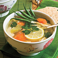 Рецепт куриного супа с овощами