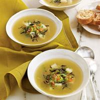 Рецепт рисового супа с сельдереем