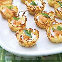 Рецепт тарталеток из картофеля