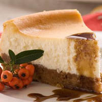 Шоколадно-воздушный сырный торт