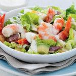 Готовим дома салат Цезарь с креветками