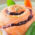 Жаркое из лосося