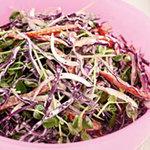 Праздничный салат из капусты