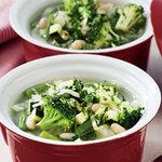 Зеленый суп минестроне